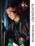 hotan  xinjiang  china october... | Shutterstock . vector #1365621479