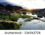 facing towards warrenpoint.... | Shutterstock . vector #136563728