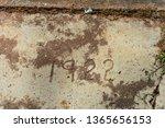 1922 Sidewalk in Wadley, Alabama