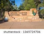 grand canyon national park... | Shutterstock . vector #1365724706