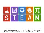 steam   science  technology ... | Shutterstock .eps vector #1365727106
