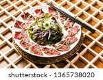 korean beef dishes | Shutterstock . vector #1365738020