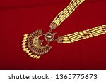 authentic traditional indian... | Shutterstock . vector #1365775673
