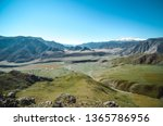 mountain landscapes of the chui ... | Shutterstock . vector #1365786956