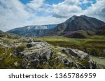 mountain landscapes of the chui ... | Shutterstock . vector #1365786959