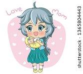 illustration of cartoon...   Shutterstock .eps vector #1365804443