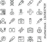 thin line vector icon set  ...   Shutterstock .eps vector #1365837929