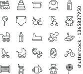thin line vector icon set  ...   Shutterstock .eps vector #1365837950