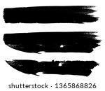 grunge paint roller . vector...   Shutterstock .eps vector #1365868826