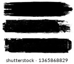 grunge paint roller . vector... | Shutterstock .eps vector #1365868829