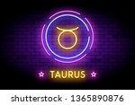 the taurus zodiac symbol ...   Shutterstock .eps vector #1365890876