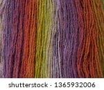 wool gradient yarn macro texture | Shutterstock . vector #1365932006