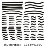 tagging marker medium lines... | Shutterstock .eps vector #1365941990