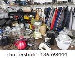 interior garage sale ... | Shutterstock . vector #136598444