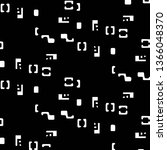 halftone monochrome texture...   Shutterstock . vector #1366048370
