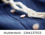 blue soft cotton festive attire ... | Shutterstock . vector #1366137023