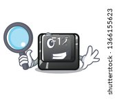 detective button f12 isolated...   Shutterstock .eps vector #1366155623