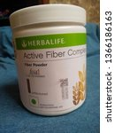 Small photo of Bangalore, Karnataka/India-Apr 07 2019: Herbalife Unflavored Active Fiber Complex plastic packed container