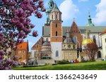krakow cracow poland   9 april... | Shutterstock . vector #1366243649