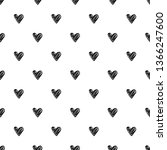 seamless pattern with black... | Shutterstock .eps vector #1366247600