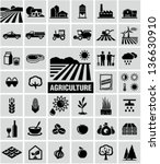 agriculture icons