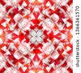 geometry texture trendy modern... | Shutterstock . vector #1366361570