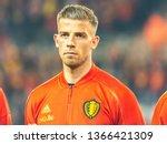 brussels  belgium   march 20 ...   Shutterstock . vector #1366421309