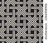 vector seamless pattern.... | Shutterstock .eps vector #1366508906