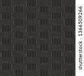 vector seamless stylish pattern.... | Shutterstock .eps vector #1366509266