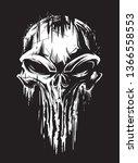 Military Grunge Skull