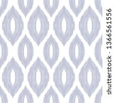 ikat pattern. tribal textured... | Shutterstock .eps vector #1366561556