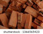 pile of brick block used for...   Shutterstock . vector #1366565423