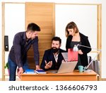 close up on discussion.... | Shutterstock . vector #1366606793