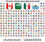 vector collection of 208... | Shutterstock .eps vector #1366640036