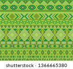 peruvian american indian...   Shutterstock .eps vector #1366665380