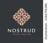 abstract flower swirl logo icon ...   Shutterstock .eps vector #1366705280