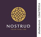 abstract flower swirl logo icon ...   Shutterstock .eps vector #1366705316