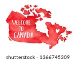 Map Of Canada With Little Love...