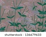 graphic pattern | Shutterstock . vector #136679633