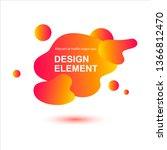gradient abstract background... | Shutterstock .eps vector #1366812470
