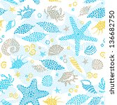 Light Seamless Pattern With Se...