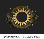 decorative graphic design... | Shutterstock .eps vector #1366975433