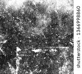 grunge black and white abstract ...   Shutterstock . vector #1366998860