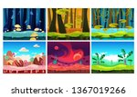 flat vector set of backgrounds...