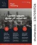 modern business corporate... | Shutterstock .eps vector #1367050526