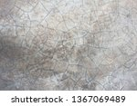 cracking pattern of concrete... | Shutterstock . vector #1367069489