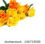 Yellow And Orange Roses