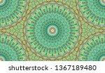 andala kaleidoscope.ethnic... | Shutterstock . vector #1367189480