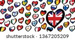 song festival euro songfestival ... | Shutterstock .eps vector #1367205209