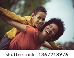 the best days are when we play. ... | Shutterstock . vector #1367218976